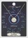zodiac sign brushed metal necklace, gemini