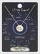 zodiac sign brushed metal necklace, sagittarius
