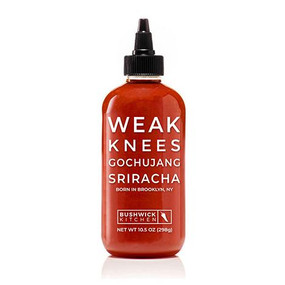 weak knees gochujang sriracha