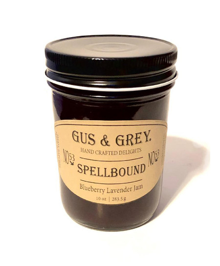 spellbound blueberry lavender jam
