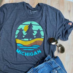 michigan shoreline t-shirt,