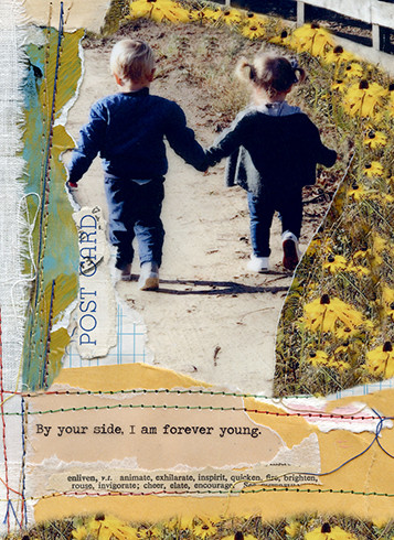 forever young love card