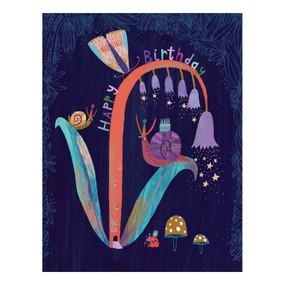 bluebells birthday card