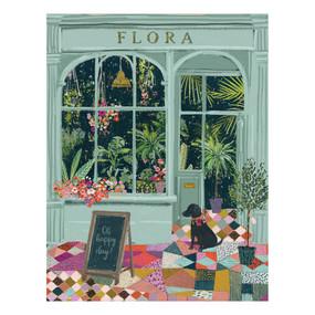 flower shop birthday card