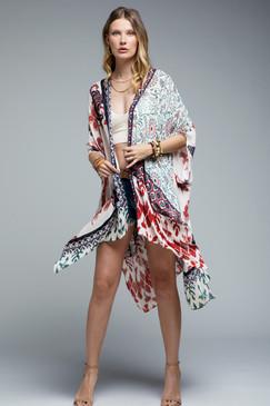 block print kimono