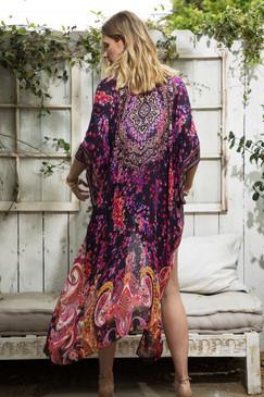 morpheus paisley kimono