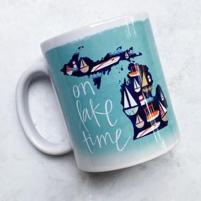 on lake time mug