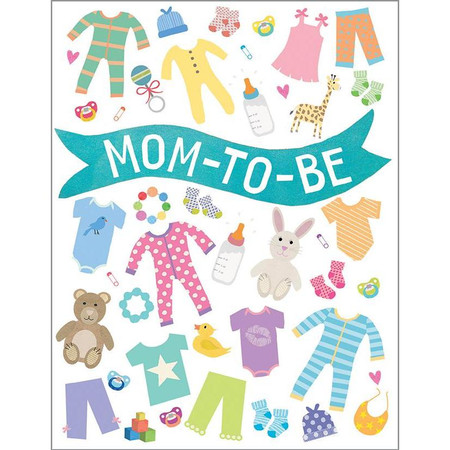 baby clothes new baby card