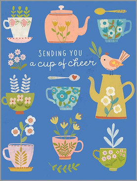 cup of cheer  get well card