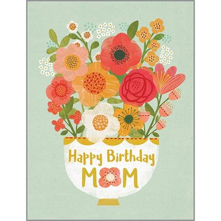 flowers for mom birthday card