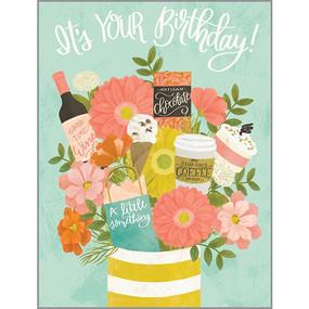 birthday treats birthday card