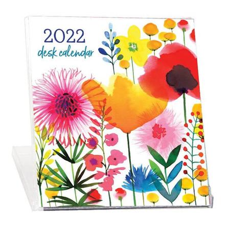 2022 magrikie's blooms desk calendar