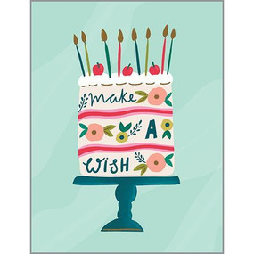 make a wish cherries birthday card