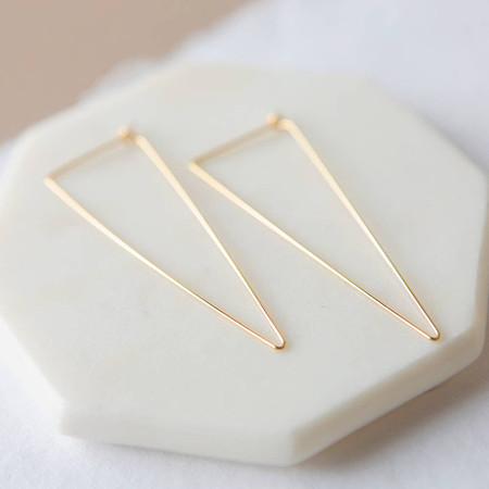 stevie earrings, gold