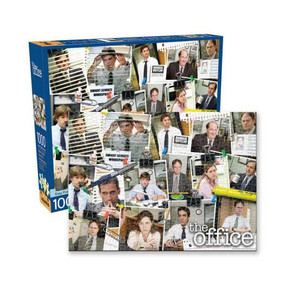 the office cast collage 1000 piece puzzle