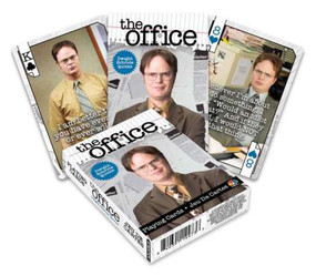 the office playing cards dwight quotes