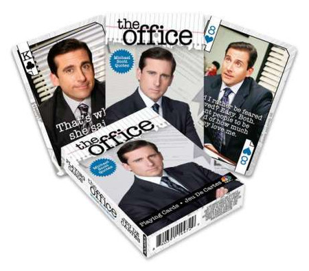 the office playing cards michael quotes