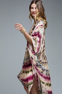napa tie dye kimono