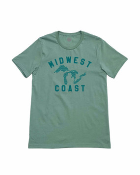 great lakes state midwest t-shirt