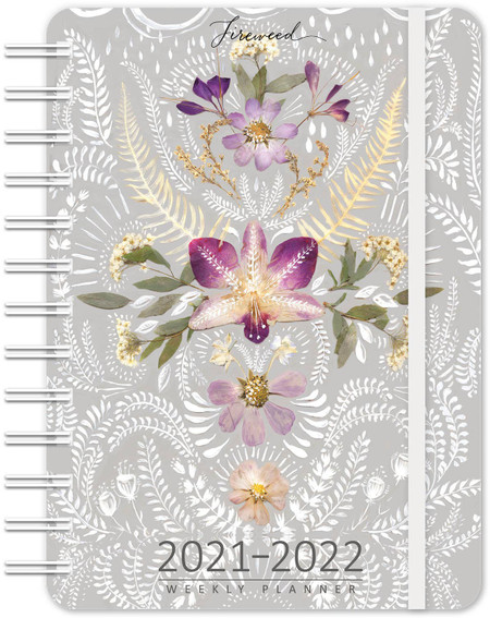 2021-22 fireweed 17 month planner