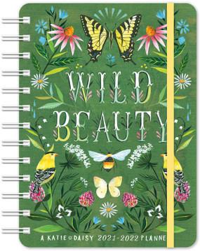 2021-22 wild beauty 17 month planner