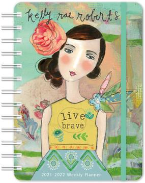 2021-22 live brave 17 month planner