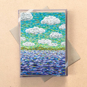 clouds mini boxed cards