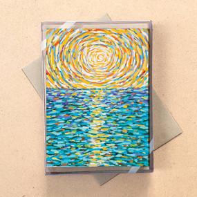 ocean sun mini boxed cards