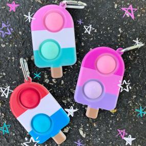 OMG mega pop ice pop key chain