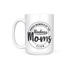 badass mom mug