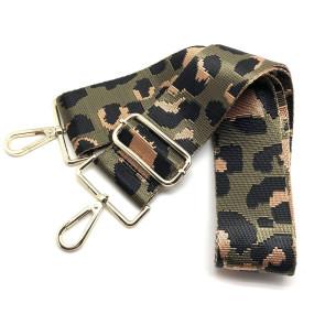 cheetah guitar bag strap, olive