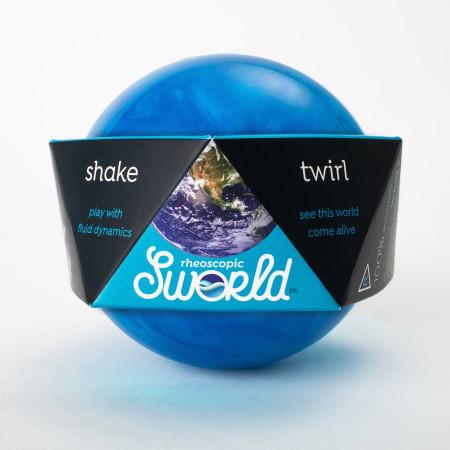 sworld planet, blue