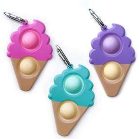 fidgety ice cream key chain (assorted)