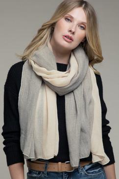 simplistic oblong scarf