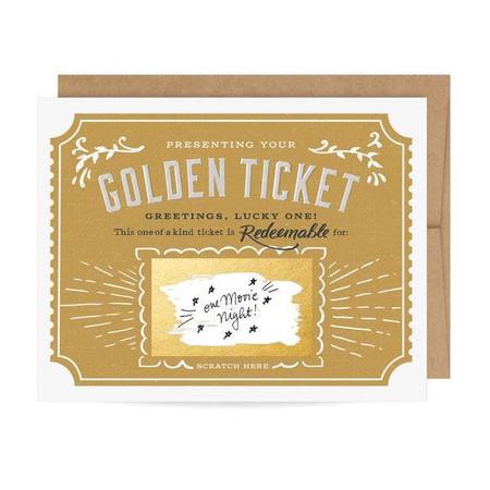 golden ticket scratch off card