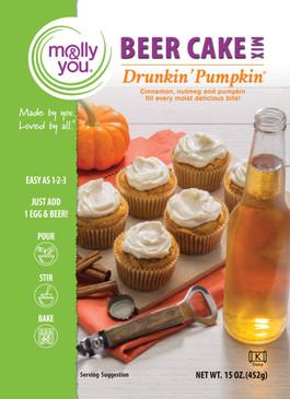 drunkin' pumpkin beer cake mix