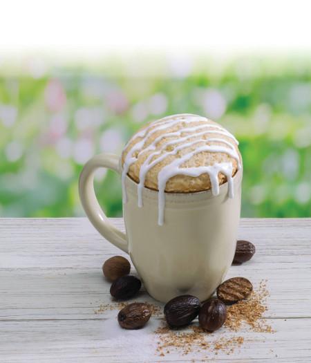 vanilla spice cake microwave single