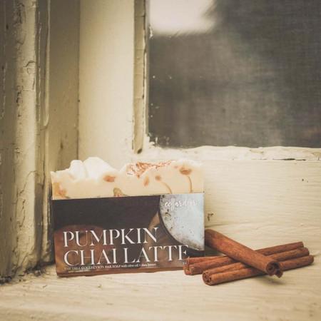 pumpkin chai latte soap