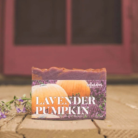 lavender pumpkin bar soap