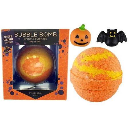 boxed spooky surprise halloween bubble bath bomb