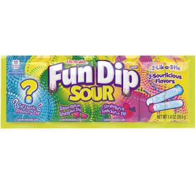 fun dip strip sour
