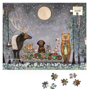 moonlit kingdom 500 piece puzzle