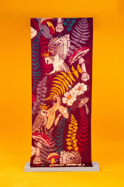 enchanted kingdom print scarf