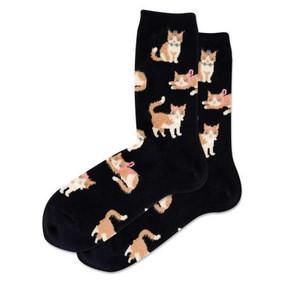 women cat ears anklet socks