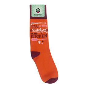bitchin' in the kitchen womens socks