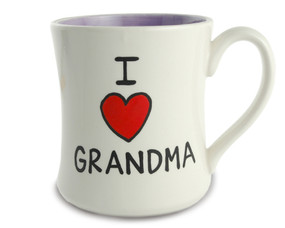 i love heart grandma ceramic coffee tea mug gift mothers day