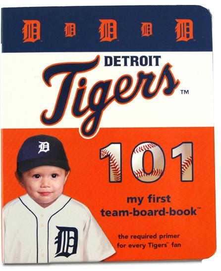 detroit tigers baseball 101 babys first 1st board book
