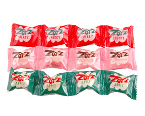 zotz fizzy fruit flavor candy cherry watermelon apple retro hard to find great stocking stuffer for kids