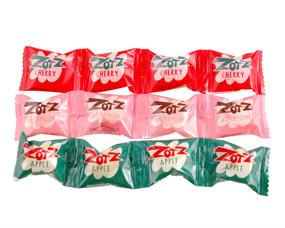 zotz fizzy fruit flavor candy cherry watermelon apple retro hard to find great stocking stuffer for kids