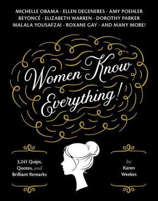 Women Know Everything Book Bookshumorous Inspirational Catching